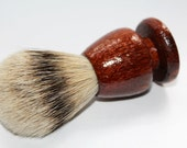 Wood Shaving Brush - Handcrafted Pheasantwood