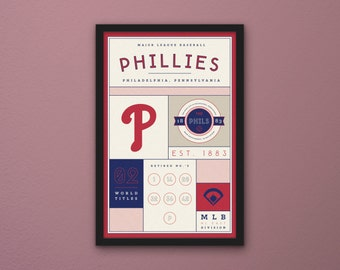 Philadelphia Phillies Stats Print