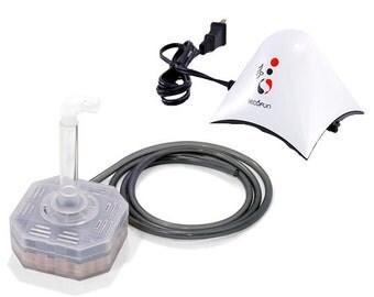 Air pump & Corner filter for iEcofun fish tanks or other aquariums under 3 Gallons