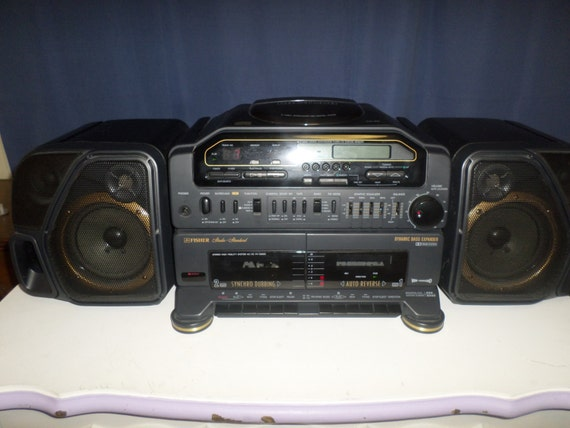 Vintage Early 90 S Fisher Boom Box Portable Stereo Model