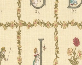 Kate Greenaway - Alphabet Clotted Cream
