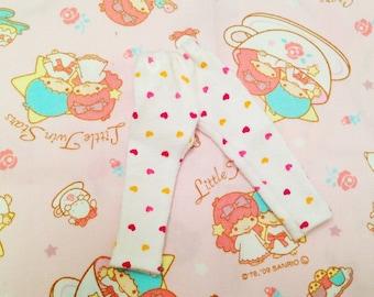 Blythe heart print capri pants