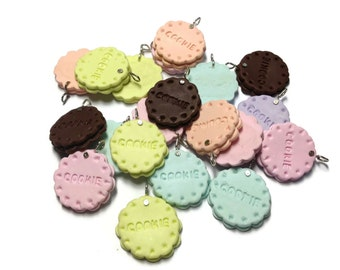 Charm Sweet -  Cookie 20pcs - 23mm