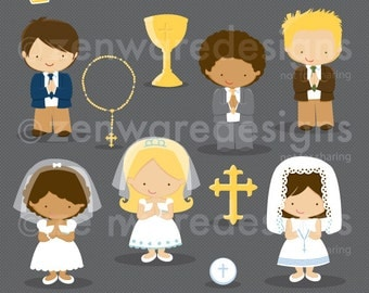 First Communion Clipart 2
