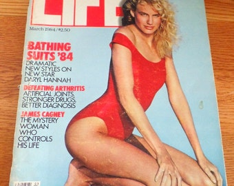 March 1984 Life magazine.  Bathing suits issue