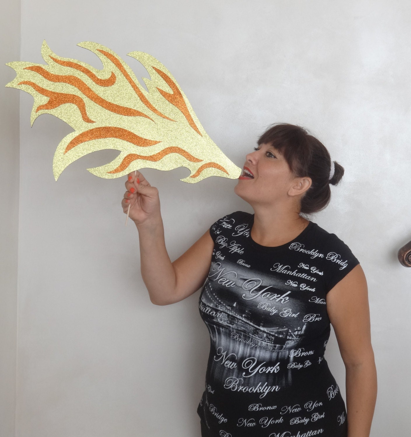 Photo booth props dragons fire so cute create lasting fun zoom ccuart Choice Image