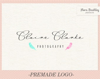 Custom Logo Design Premade Logo and Watermark - FB128