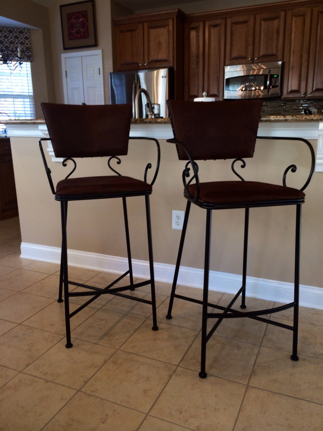 Pier One Bar Stools By Artistichometouches On Etsy