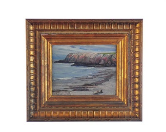 Arthur J. Hammond (1875 -1947) Cape Ann Massachusetts-Seascape Oil Painting