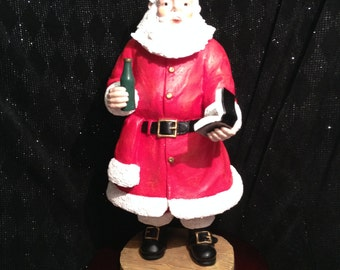Vintage Duncan Royale Soda Pop Musical Santa Figurine, Limited Edition, The History of Santa Collection.