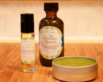 De-Stress Collection {Gift Set}, Stress Relief, Soothing, Sleep, Relaxation, Headache Relief