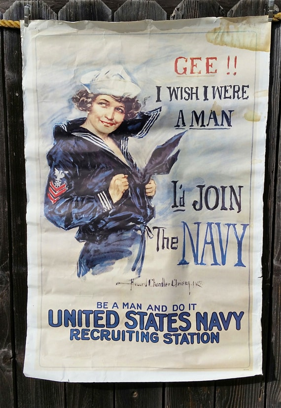 File:Howard Chandler Christy - Gee I wish I were a Man, I'd Join the Navy - Google Art Project.jpg