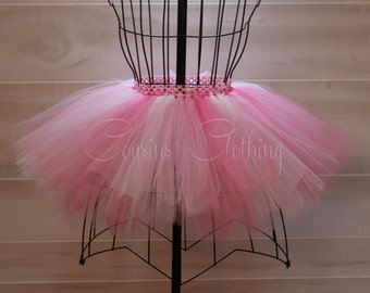 Running Tutu - Race Tutu - Adult Tutu - Pink Tutu - Breast Cancer Awareness Tutu -  Marathon Tutu - 5K Tutu - Pink Tutu - Fun Run Tutu