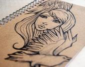Notebook Crow Girl