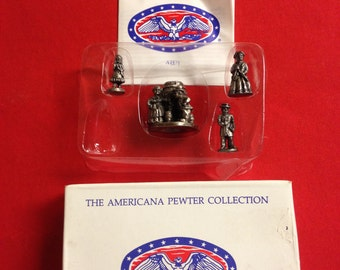 Vintage The Americana Pewter Collection AH71