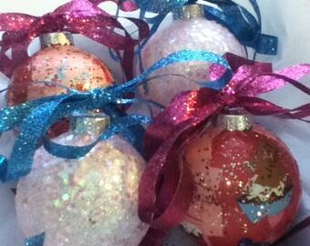 Cupcake Ornament Box Set