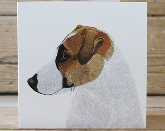 Jack Russell - Greeting card