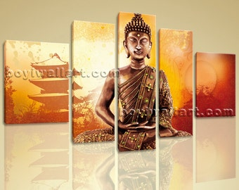 Huge Canvas Print Feng Shui Zen Wall Art Buddha Temple Framed Home Decor, Huge Feng Shui Wall Art, Living Room, Cape Palliser