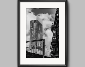 Beetham Tower, Manchester urban landscape photograph