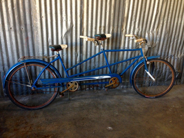 Vintage Bicycle 1960s Columbia Tandem Bike Vintage