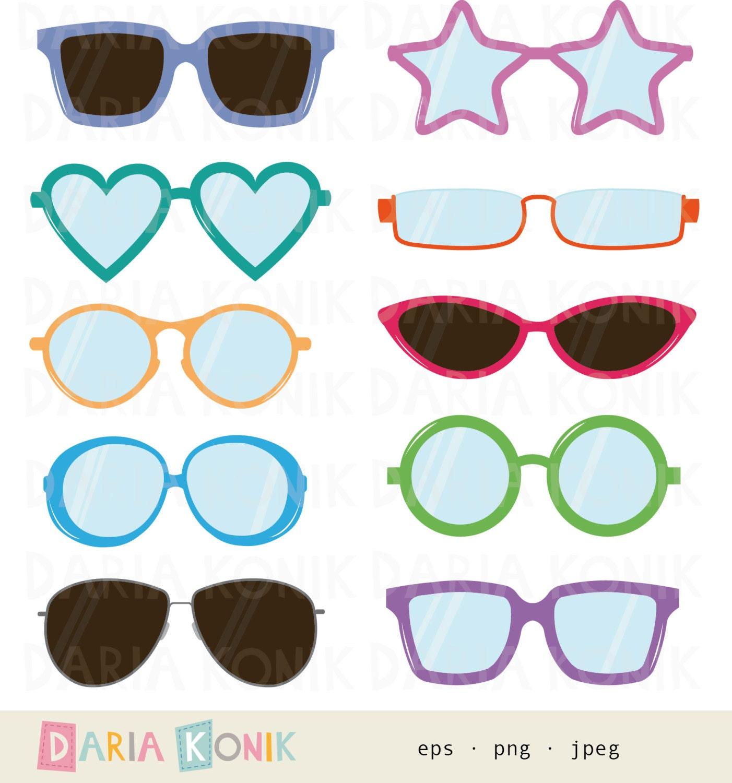 Heart Sunglasses Clip Art – Clipart Free Download
