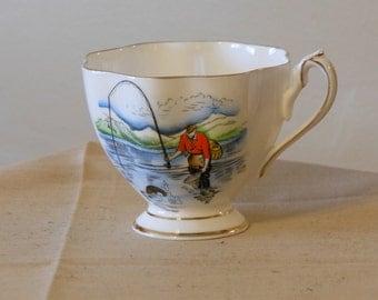 Queen Anne Teacup, Souvenir of New Brunswick