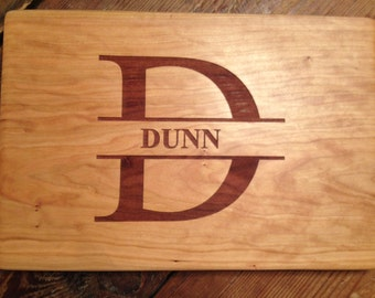 FAMILY NAME CUTTING Board  Initial/Name/ Established Date Cutting Board
