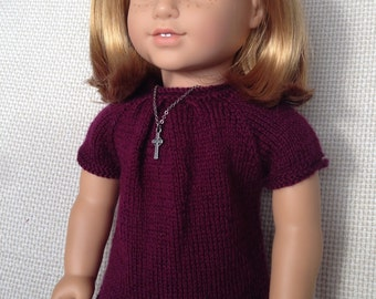 American Girl Doll Knit Tunic Pattern