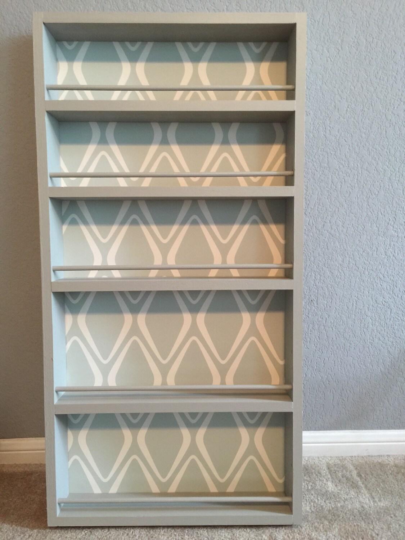 pantry door spice rack. Black Bedroom Furniture Sets. Home Design Ideas
