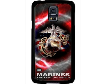 USMC Marine Corps Proud Flag Hard Case cover for Samsung Galaxy S8 S7 S6 Edge Plus S5 S4 S3 Note 5 4 3 2  iPod touch 4 5 6 Hard case Cover