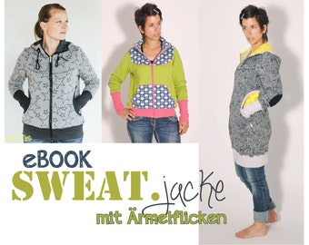 eBOOK # 65 SWEAT.jacke with XS-3XL sleeve patch - only in german language