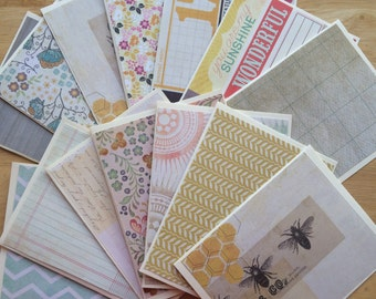 Golden Honey greeting card set of 14