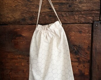Chicken Wire Organic Cotton Produce Bag