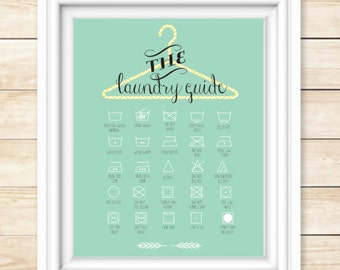 The Laundry Guide Printable