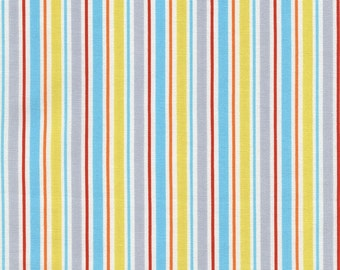 Stripe - Multi, Sea Babes, from Timeless Treasures