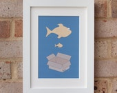 Big Fish, Little Fish - Gicleé print