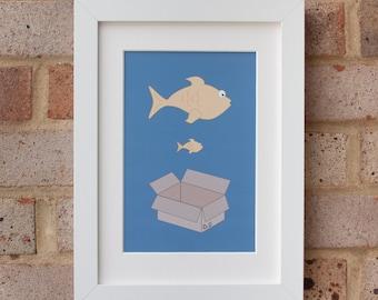 Big Fish, Little Fish - Gicleé print