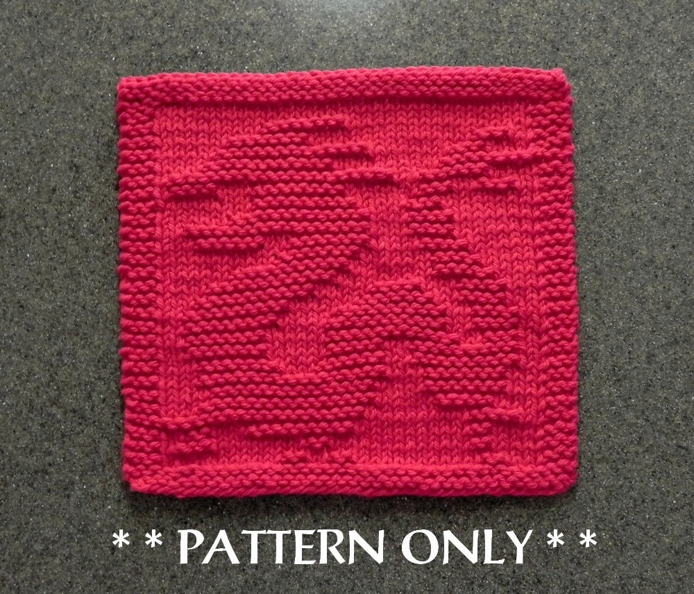 Chinese Knitting Patterns : Chinese Dragon Knitting PATTERN Instant Download Knit Dish