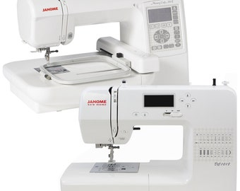 Janome Memory Craft 200E & DC1018 Combo Package