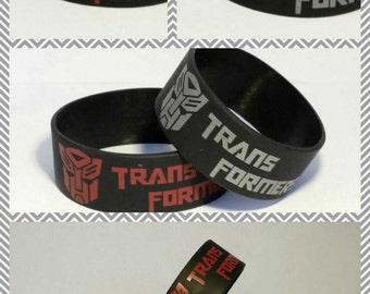 Transformers Autobots Optimus Prime Silicone Bracelet Wristband Band