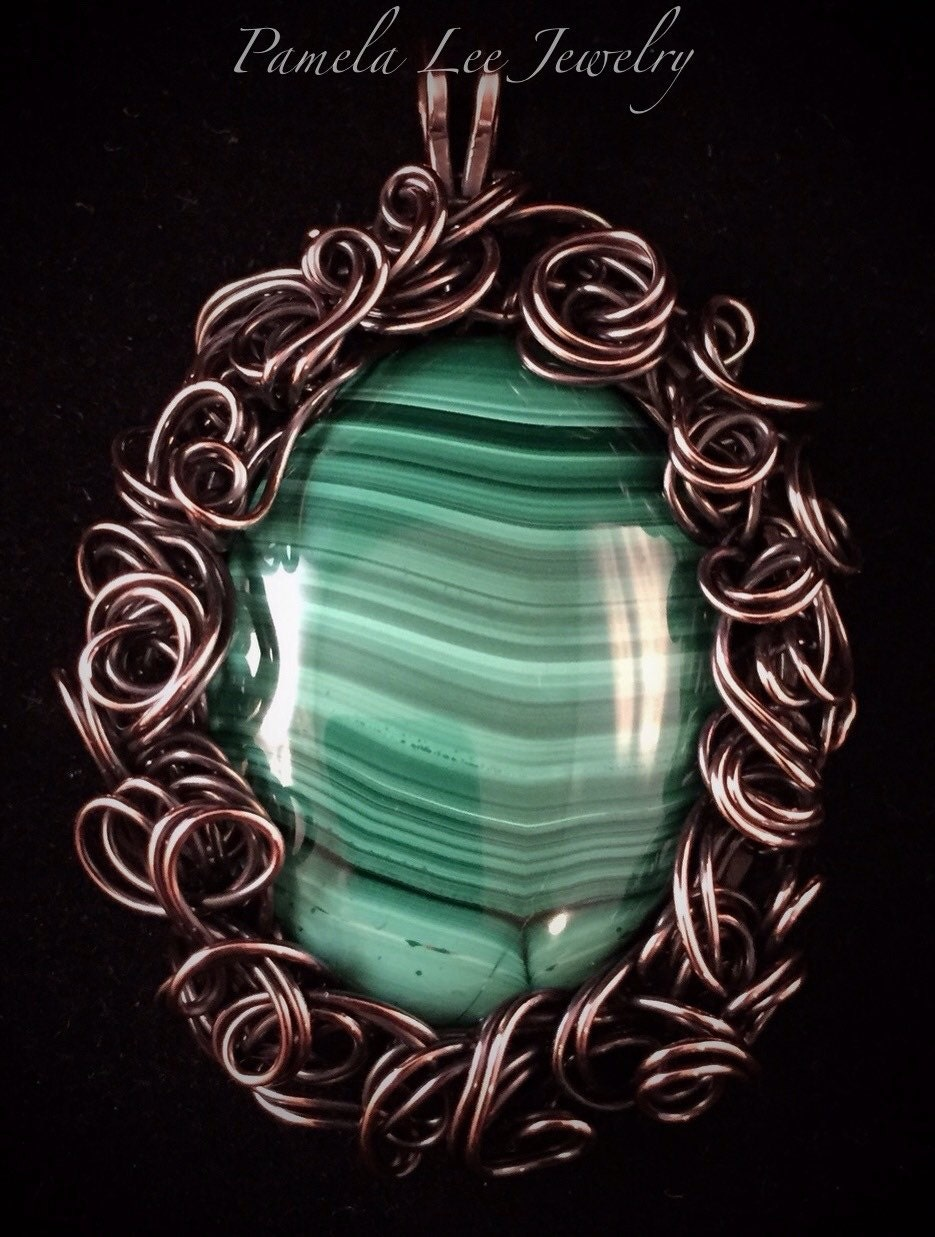 how to make copper from malachite