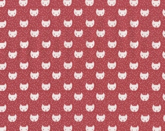Dress Me Playground - Cats(Punch) - Dear Stella Fabrics