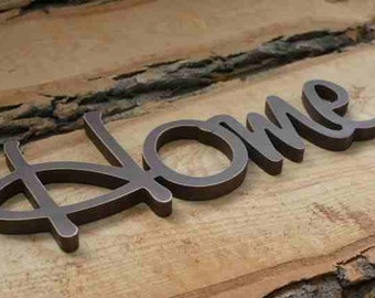 Home Sign, Wood Sign Home, HOME wood sign kitchen decor front door decor Wall Art Sign Room Decor