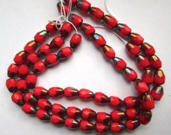 25 Vintage Czech Glass Beads
