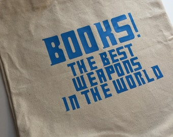 Doctor Who Inspired Book Quote - Tote Bag