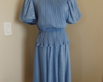 """Vintage Dress Made in The 1950's In USA By 'Discovery' - Size 36"""" Chest"""