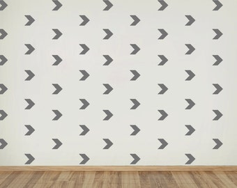Wall Chevron Arrow Decal