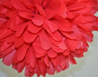 Red Bridal Shower Pom Pom, Mickey Mouse Party Decorations, Valentine's Day Decoration, Cinco de Mayo Fiesta Decorations, Holiday Centerpiece