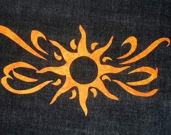 Black Hole Sun Quilt Applique Pattern Design (easy)