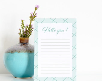 Notepad To do list Hello you